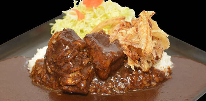 Black Curry with Beef